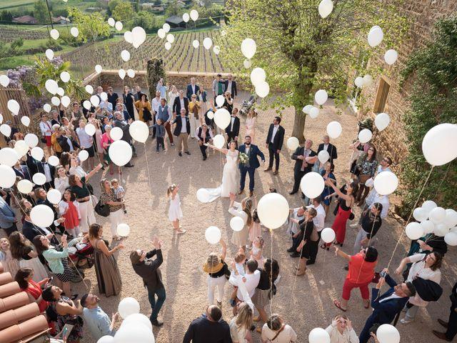 Le mariage de Thibaud et Alison à Le Bois-d'Oingt, Rhône 17