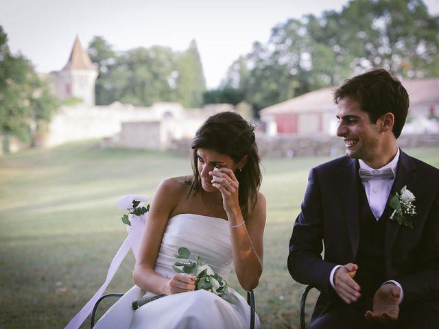 Le mariage de Lucas et Ariane à Saint-Émilion, Gironde 17