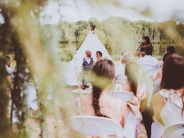 Le mariage de Valentin et Solène à Hontanx, Landes 3