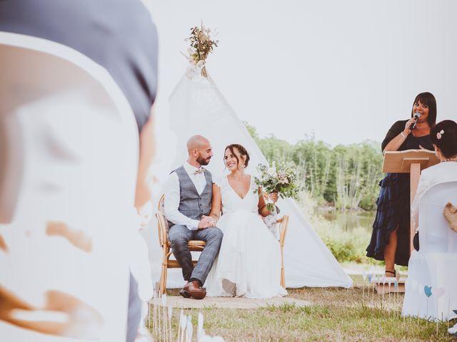Le mariage de Valentin et Solène à Hontanx, Landes 5