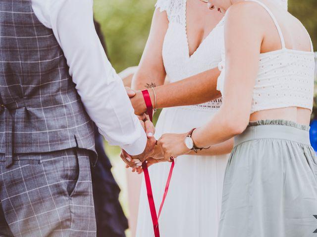 Le mariage de Valentin et Solène à Hontanx, Landes 8