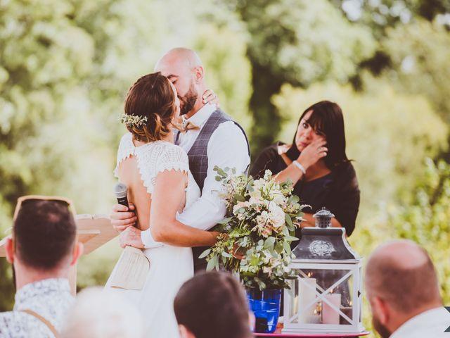 Le mariage de Valentin et Solène à Hontanx, Landes 11