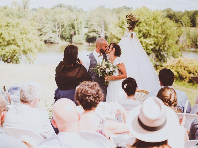 Le mariage de Valentin et Solène à Hontanx, Landes 15