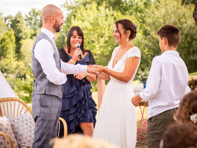 Le mariage de Valentin et Solène à Hontanx, Landes 17