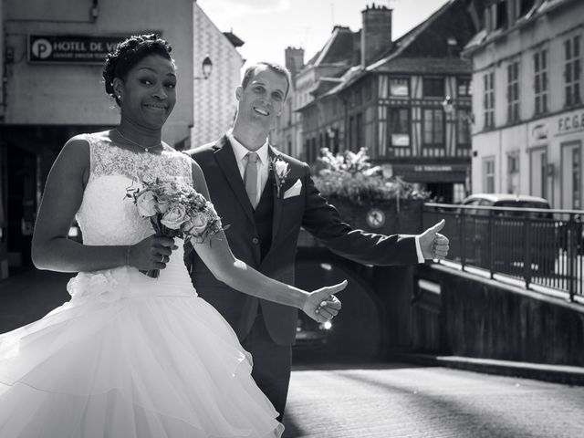 Le mariage de Nathanaël et Hafssoit à Troyes, Aube 17