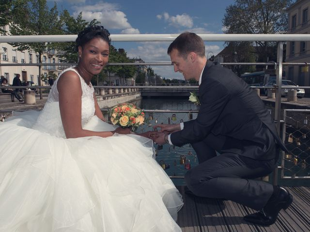 Le mariage de Nathanaël et Hafssoit à Troyes, Aube 20