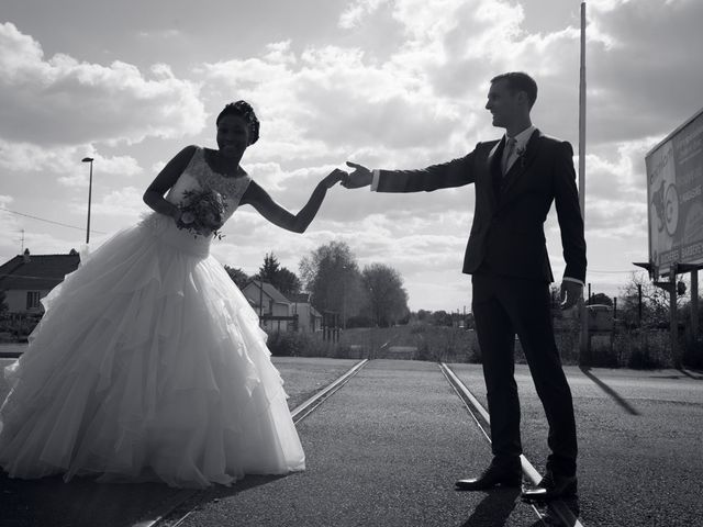 Le mariage de Nathanaël et Hafssoit à Troyes, Aube 23