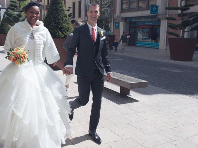 Le mariage de Nathanaël et Hafssoit à Troyes, Aube 41