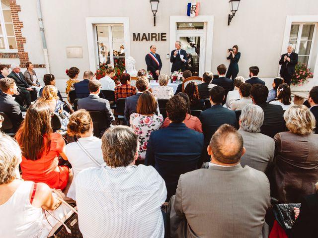 Le mariage de Arnaud et Lucile à Bleury, Eure-et-Loir 18