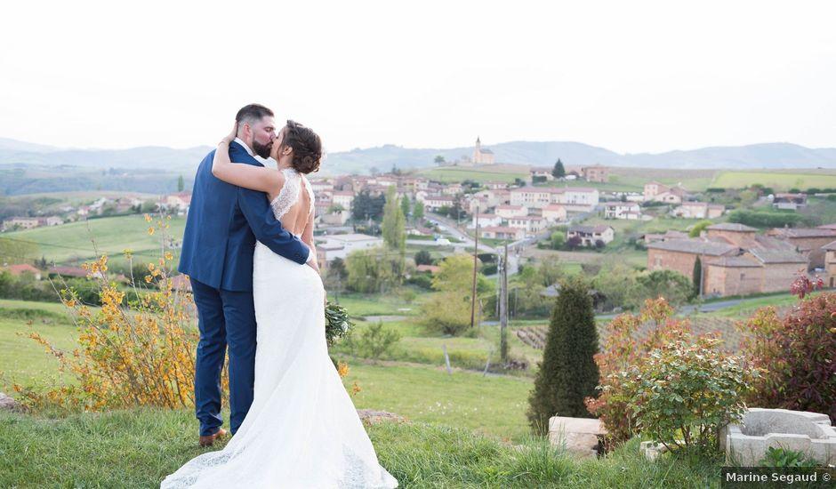Le mariage de Thibaud et Alison à Le Bois-d'Oingt, Rhône