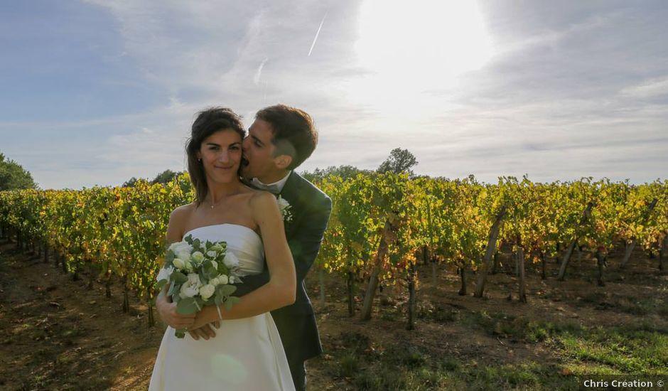 Le mariage de Lucas et Ariane à Saint-Émilion, Gironde