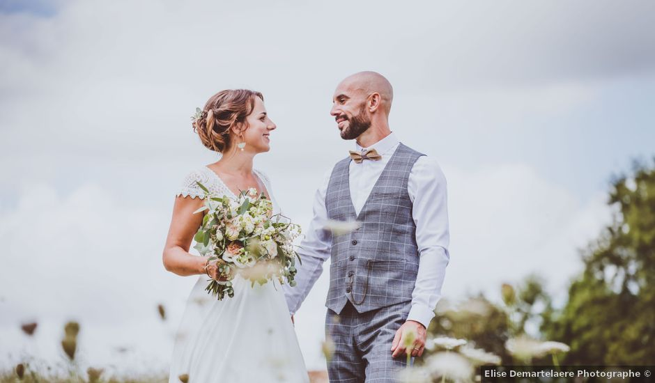 Le mariage de Valentin et Solène à Hontanx, Landes
