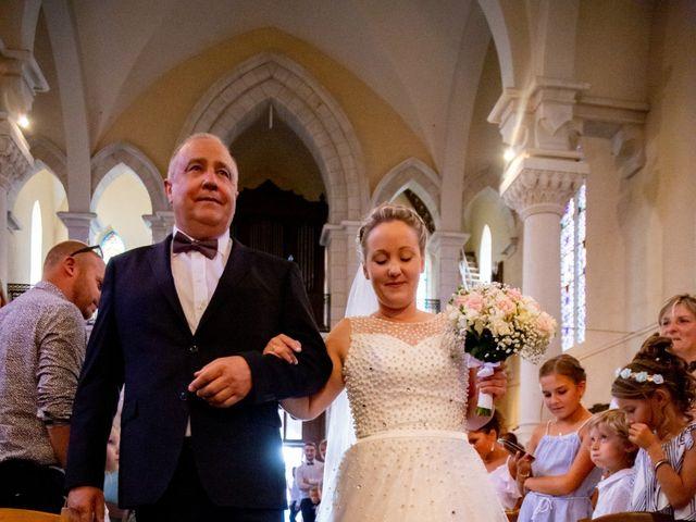 Le mariage de Romain et Sarah à Cosne-d'Allier, Allier 15