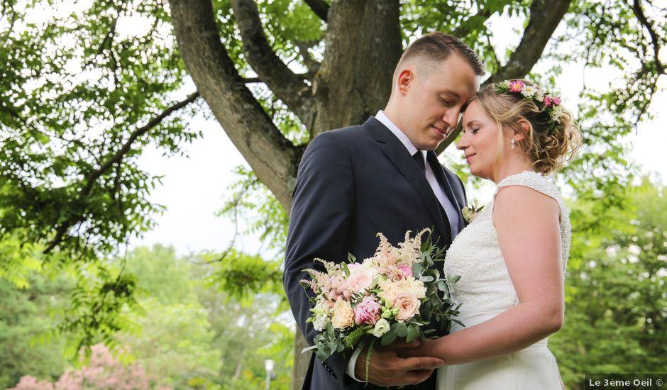 Le mariage de Rémy et Jordane à Ensisheim, Haut Rhin