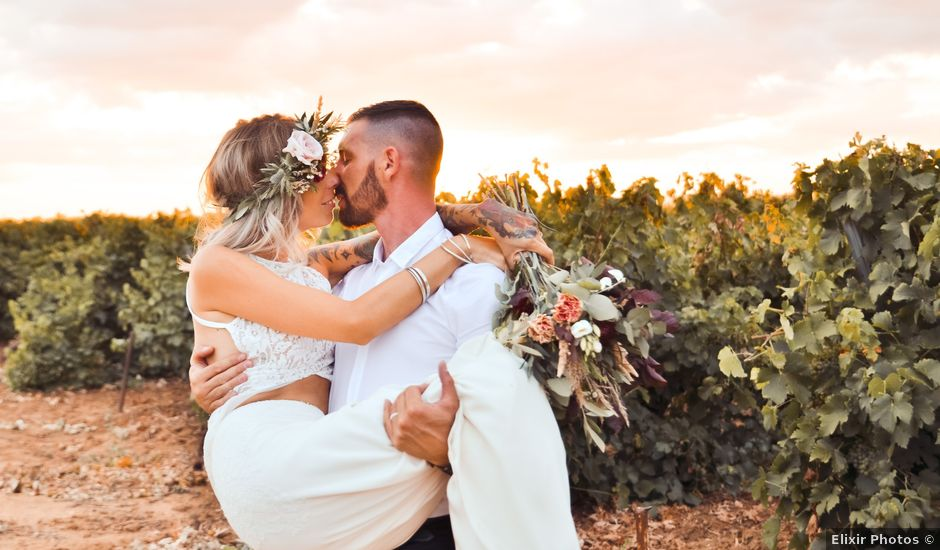 Le mariage de Miguel et Samantha à Pomérols, Hérault