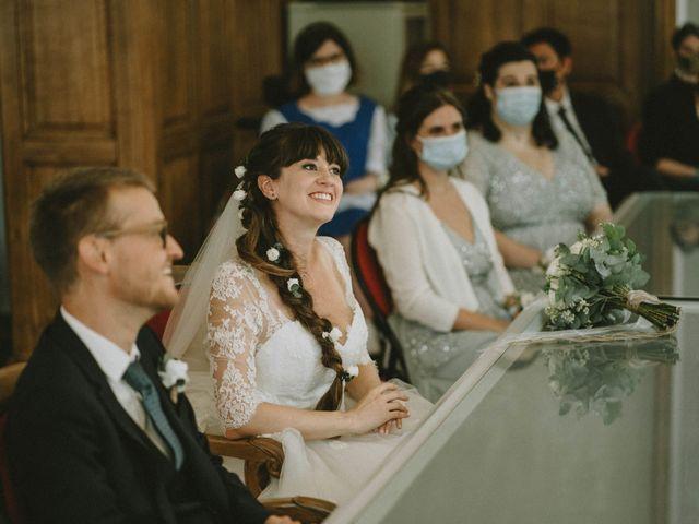 Le mariage de Simone et Lydiane à Paris, Paris 100