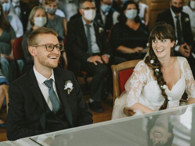 Le mariage de Simone et Lydiane à Paris, Paris 101