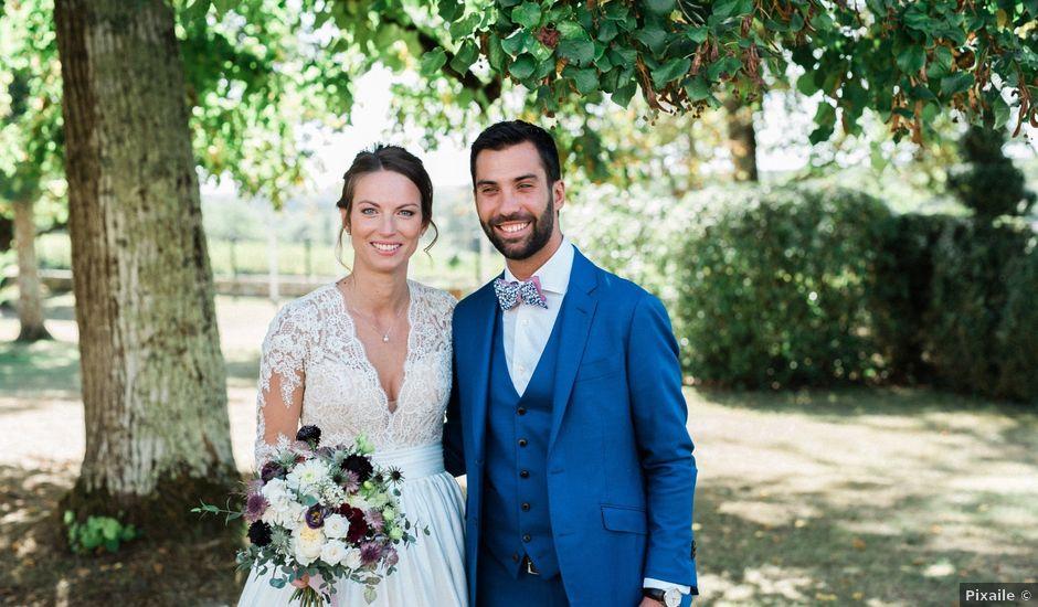 Le mariage de Mickael et Marion à Lignan-de-Bordeaux, Gironde