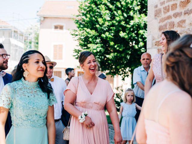 Le mariage de Christopher et Célia à Vonnas, Ain 28