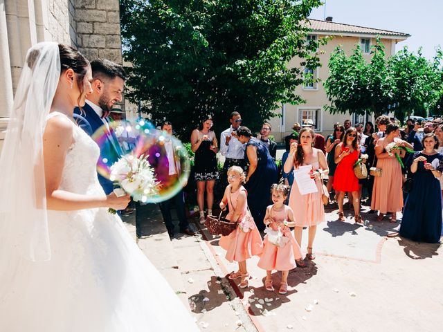 Le mariage de Christopher et Célia à Vonnas, Ain 40