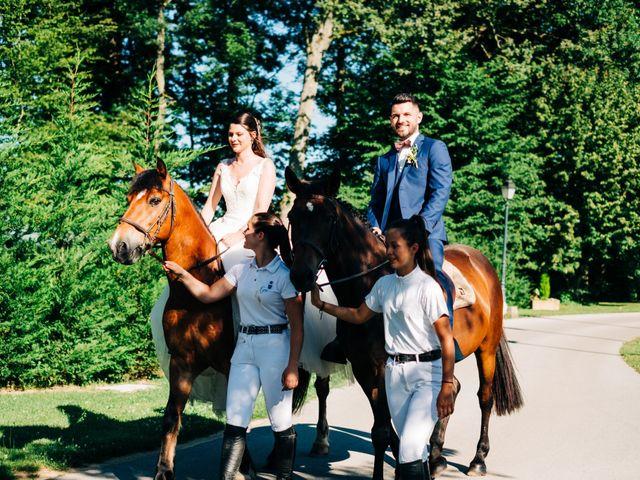 Le mariage de Christopher et Célia à Vonnas, Ain 75