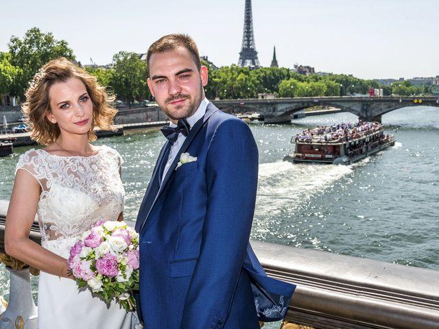 Le mariage de Kevin et Viki à Paris, Paris 8