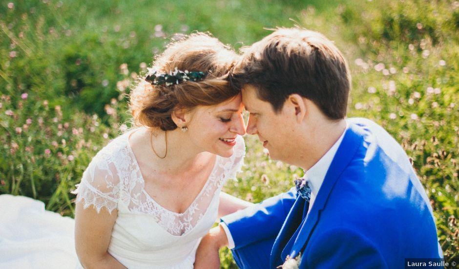 Le mariage de Aymeric et Julie à Saint-Cyr-la-Rosière, Orne