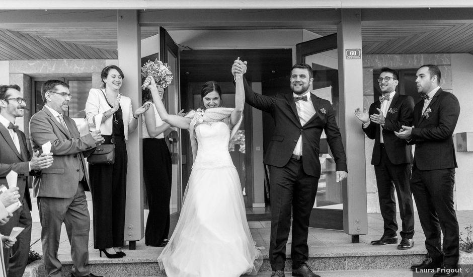 Le mariage de Guillaume et Cécile à Thonon-les-Bains, Haute-Savoie