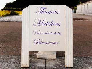 Le mariage de Thomas et Matthias 1