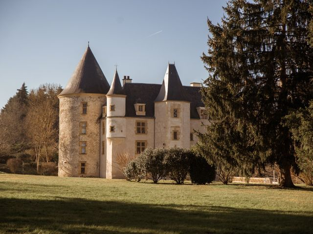 Le mariage de Russell et Verity à Saint-Martory, Haute-Garonne 1