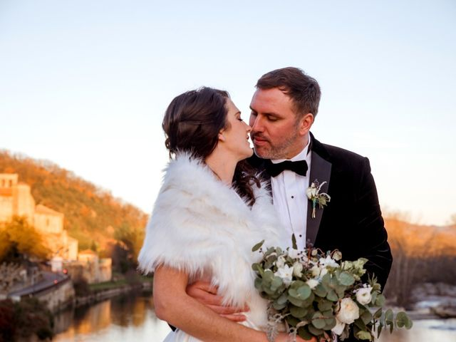 Le mariage de Russell et Verity à Saint-Martory, Haute-Garonne 36