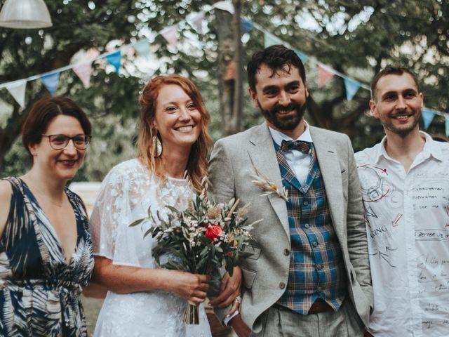 Le mariage de Xavier et Betty à Langlade, Gard 7