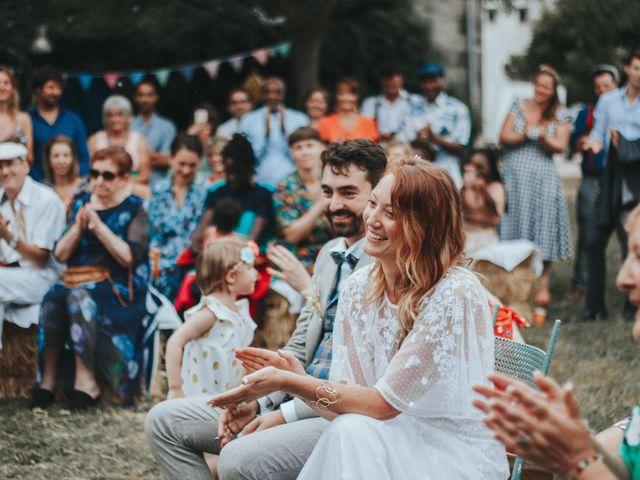 Le mariage de Xavier et Betty à Langlade, Gard 2