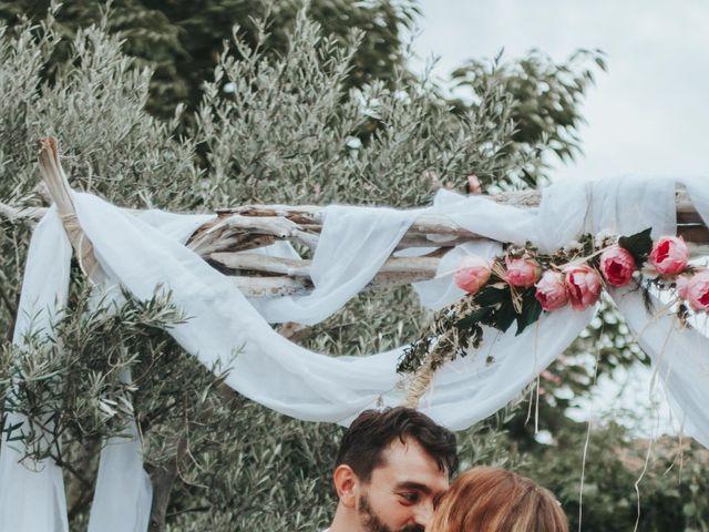 Le mariage de Xavier et Betty à Langlade, Gard 9