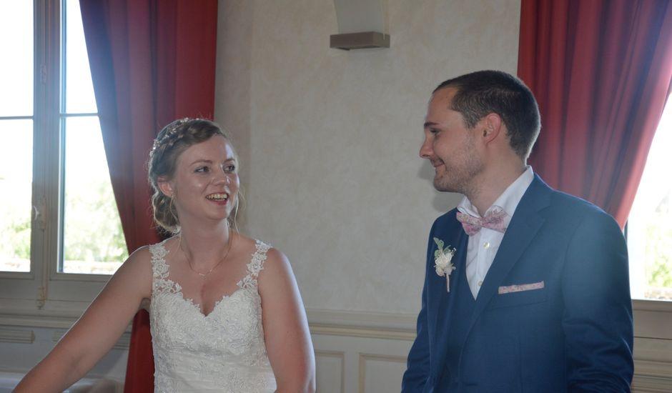 Le mariage de Guillaume et Camille à Montreuil-Bellay, Maine et Loire
