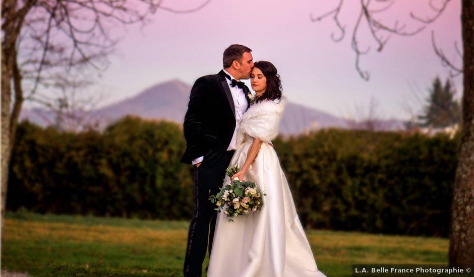 Le mariage de Russell et Verity à Saint-Martory, Haute-Garonne