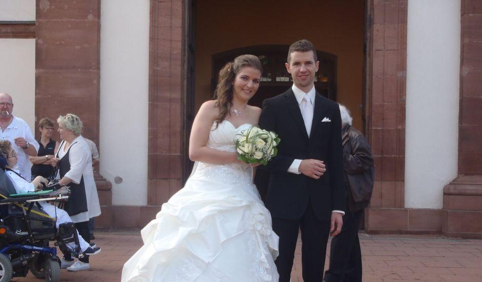 Le mariage de Jonathan et Roxane à Drusenheim, Bas Rhin