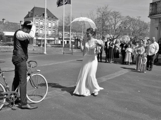 Le mariage de Ken et Mathilde à Creully, Calvados 10