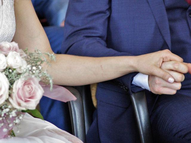 Le mariage de Ken et Mathilde à Creully, Calvados 11
