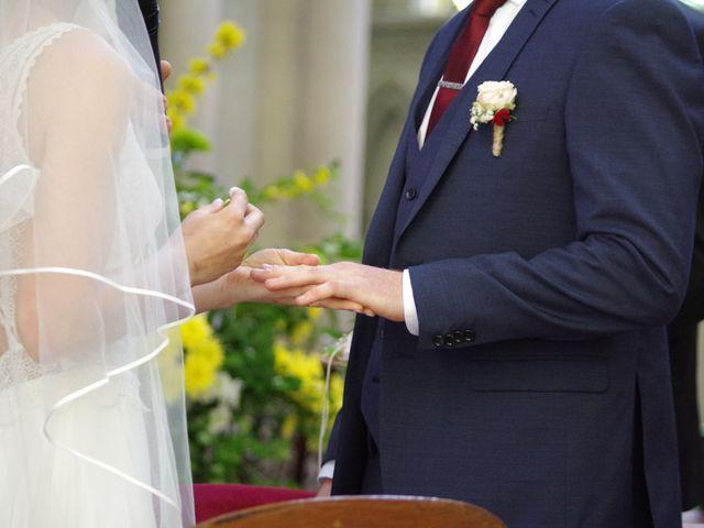Le mariage de Ken et Mathilde à Creully, Calvados 17