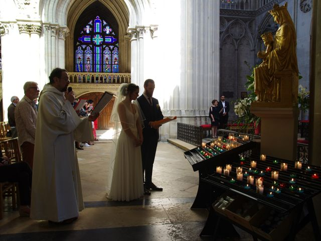 Le mariage de Ken et Mathilde à Creully, Calvados 18