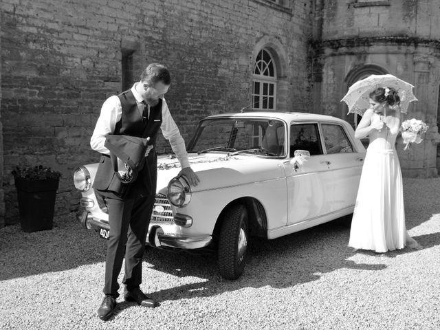 Le mariage de Ken et Mathilde à Creully, Calvados 20