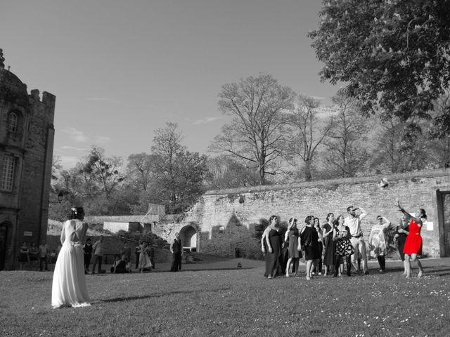 Le mariage de Ken et Mathilde à Creully, Calvados 30