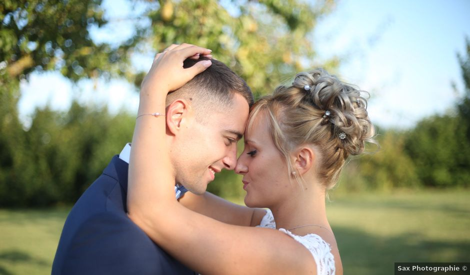 Le mariage de Jordan et Cécile à Barbery, Oise