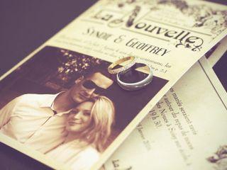 Le mariage de Syndie et Geoffrey 1