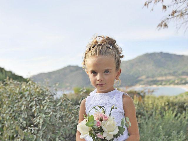 Le mariage de Mathieu et Virginie à Afa, Corse 4