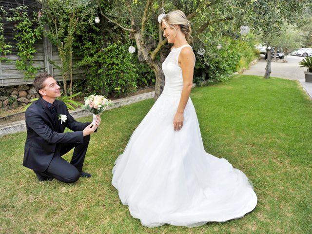 Le mariage de Mathieu et Virginie à Afa, Corse 7