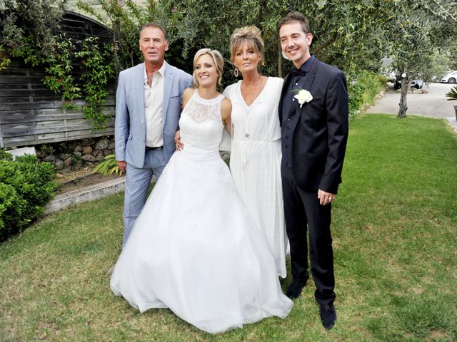 Le mariage de Mathieu et Virginie à Afa, Corse 8