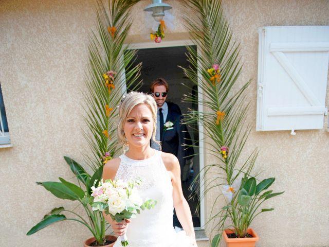 Le mariage de Mathieu et Virginie à Afa, Corse 18