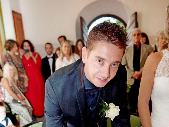 Le mariage de Mathieu et Virginie à Afa, Corse 24